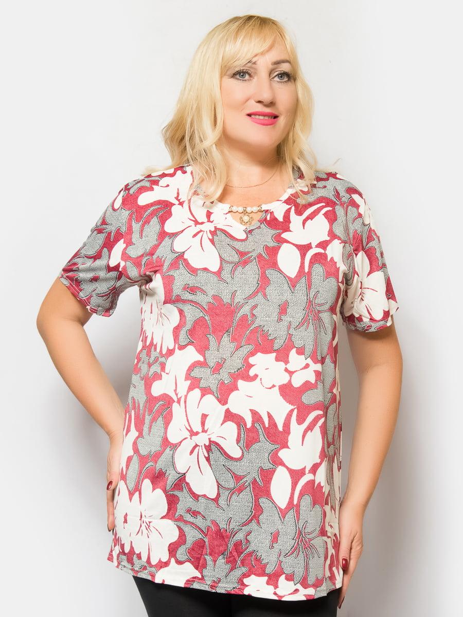 Блуза в цветочный принт | 4425260