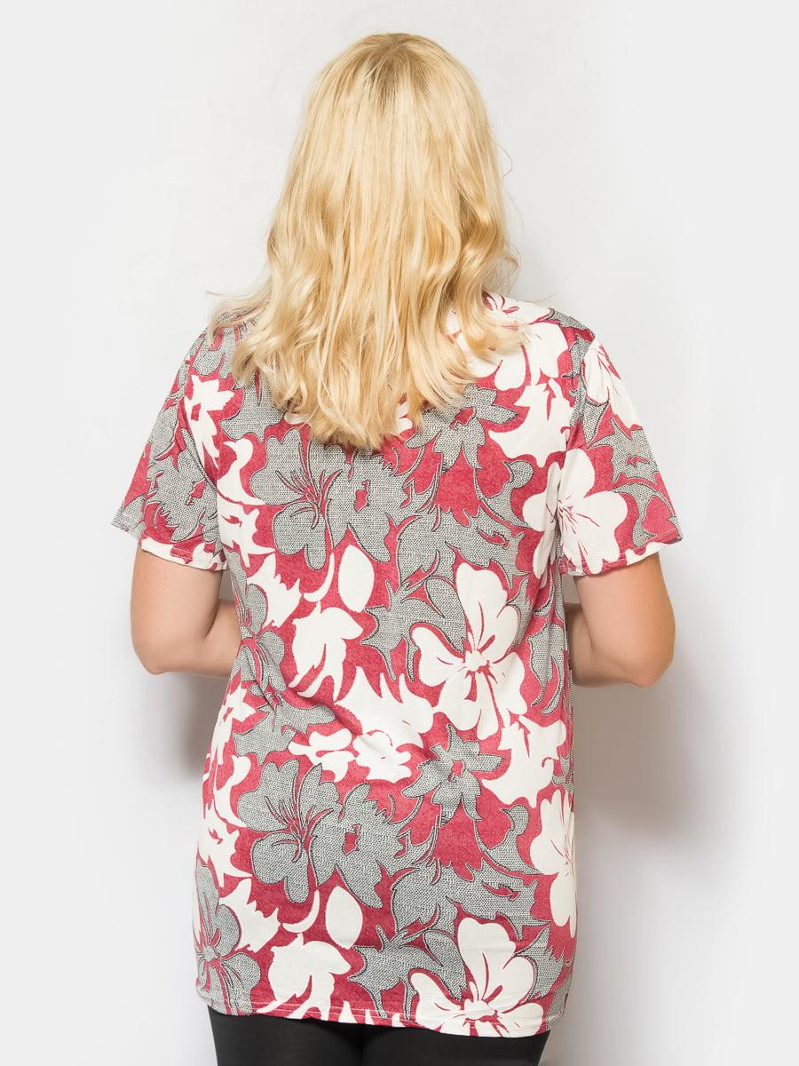 Блуза в цветочный принт | 4425260 | фото 2