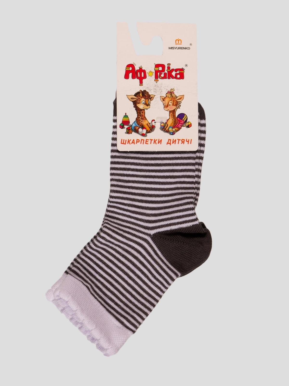 Шкарпетки в смужку | 4412105