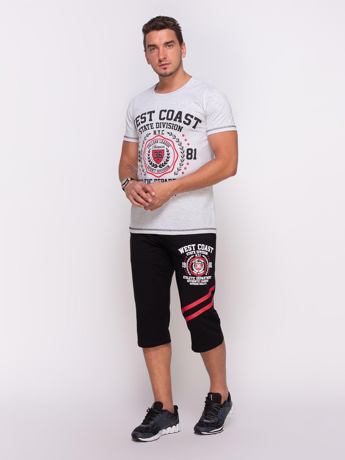 Комплект: футболка та бриджі | 4373847
