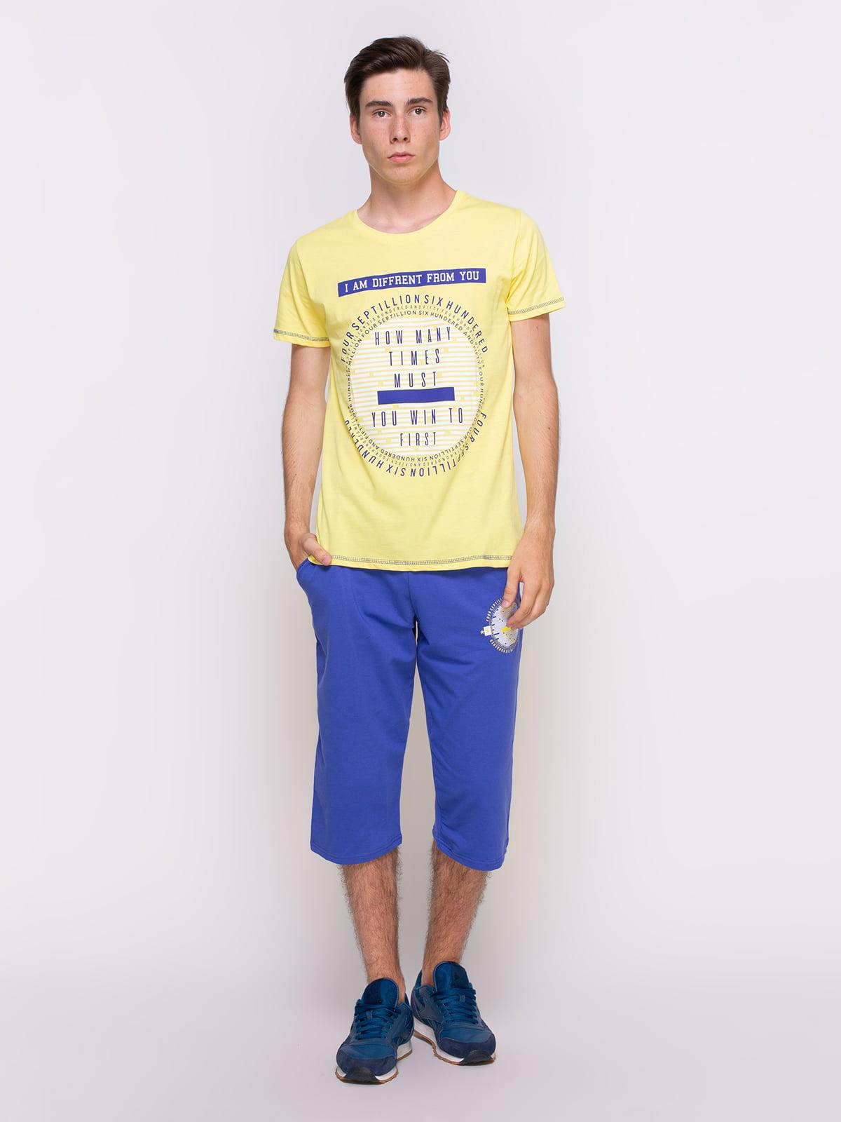 Комплект: футболка та бриджі | 4373845