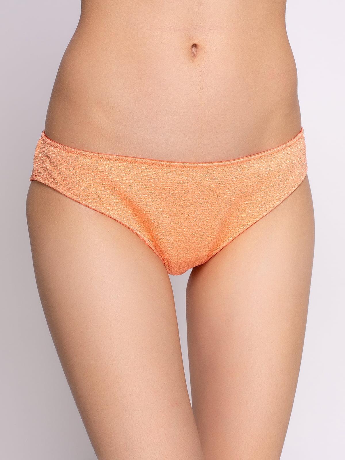 Труси морквяного кольору купальні | 2992294