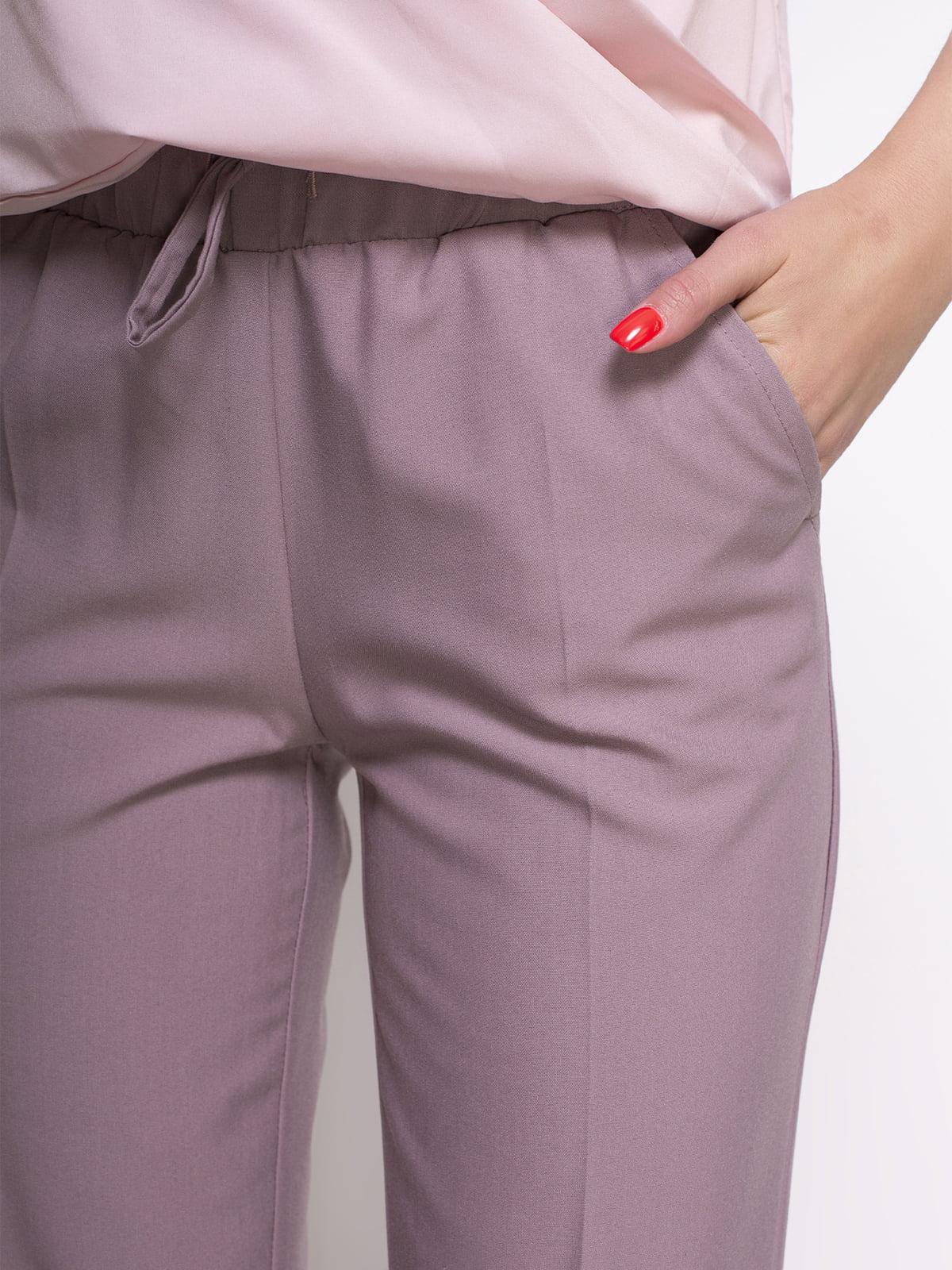 Штани рожеві | 4427621 | фото 2