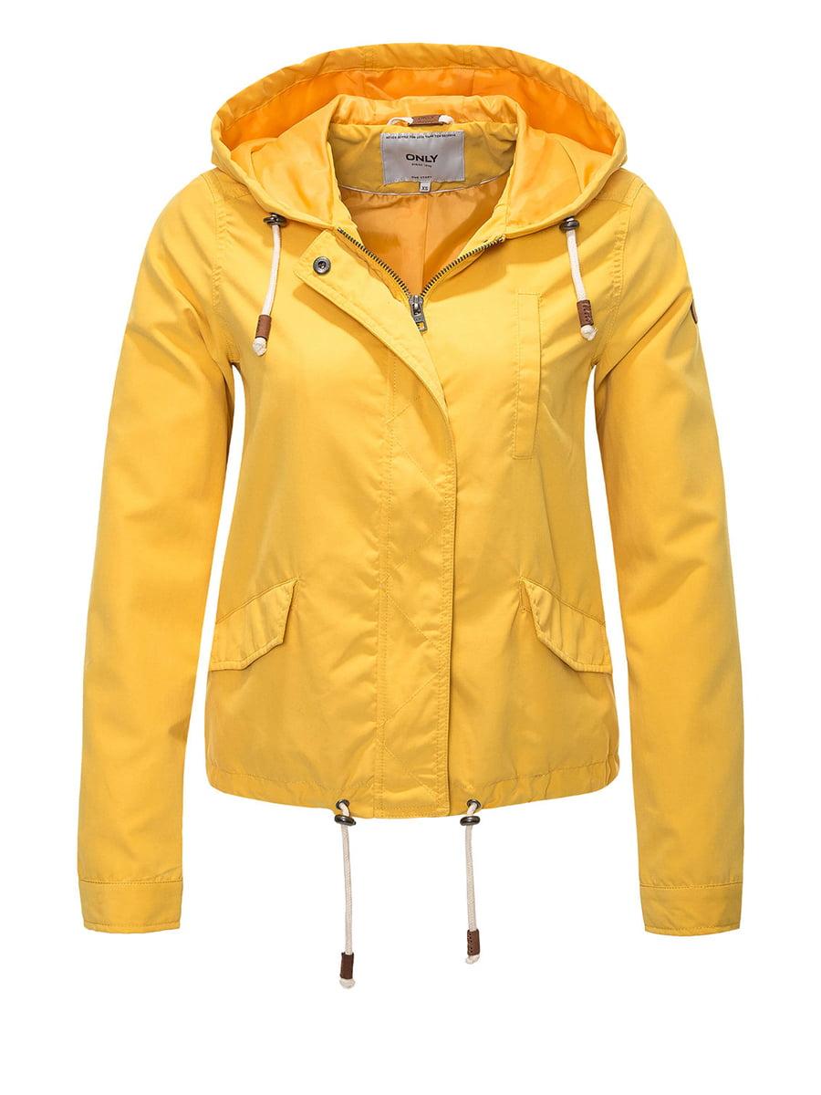 Куртка жовта | 4438272