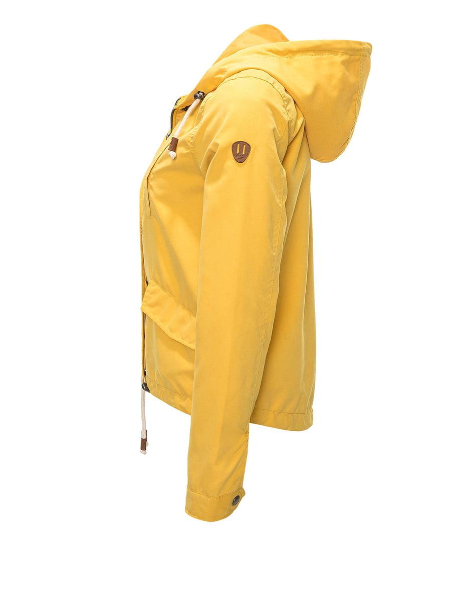 Куртка жовта | 4438272 | фото 2