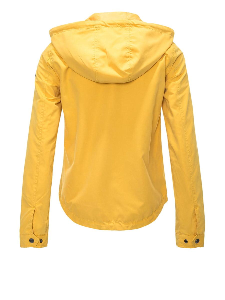 Куртка жовта | 4438272 | фото 3