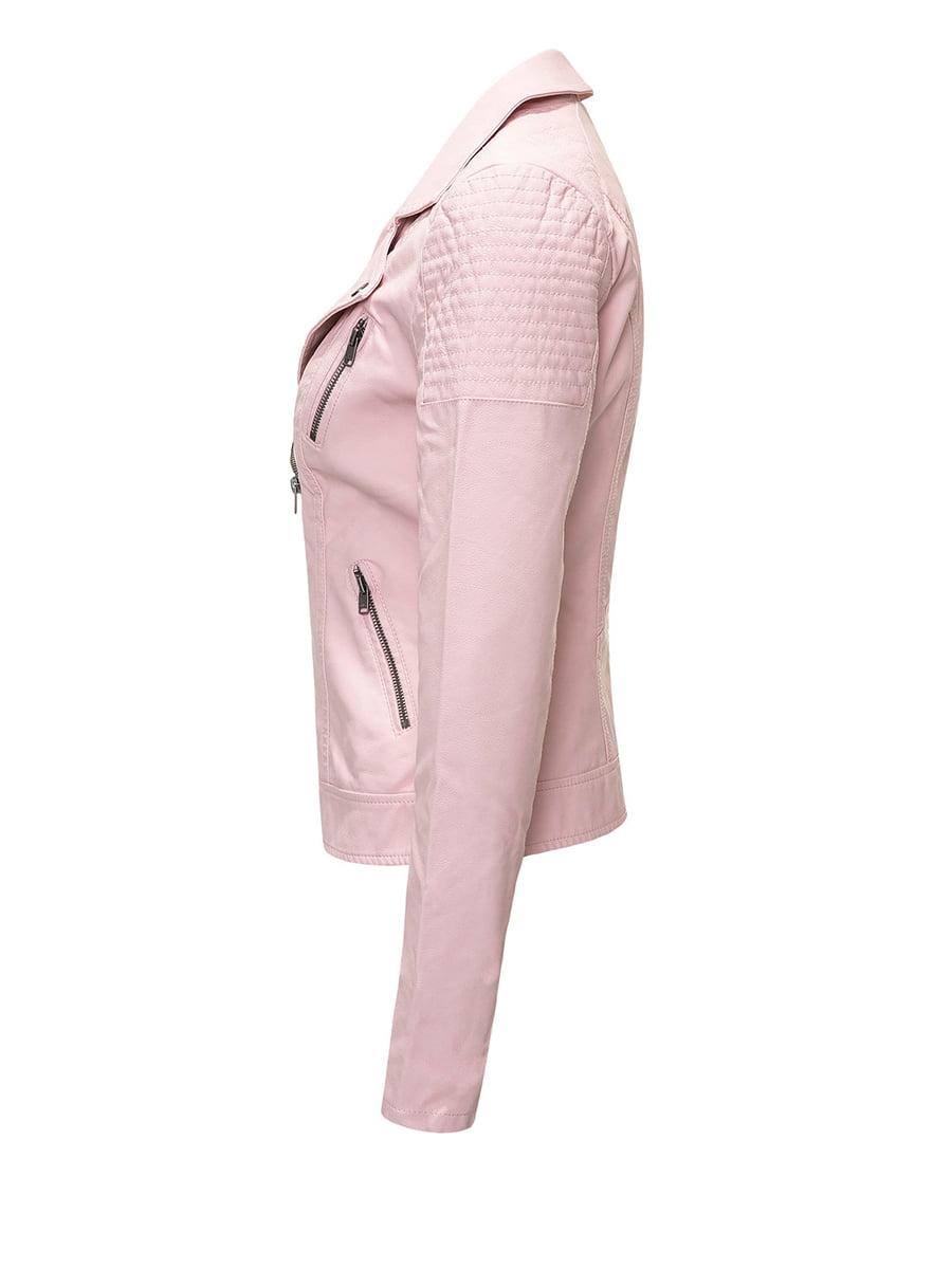 Куртка рожева | 4438284 | фото 2