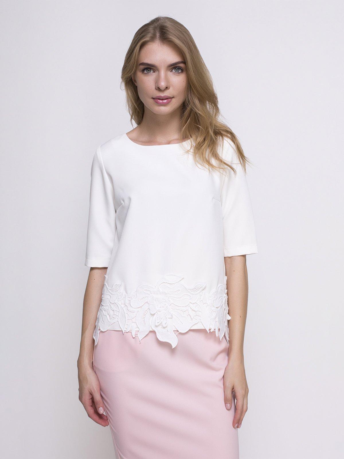 Блуза молочного цвета | 4427553