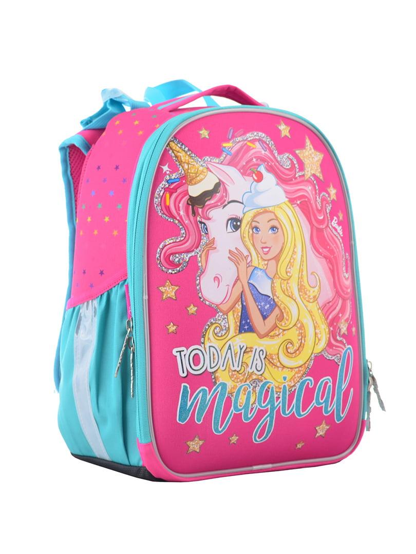 Рюкзак двоколірний з принтом | 4440420