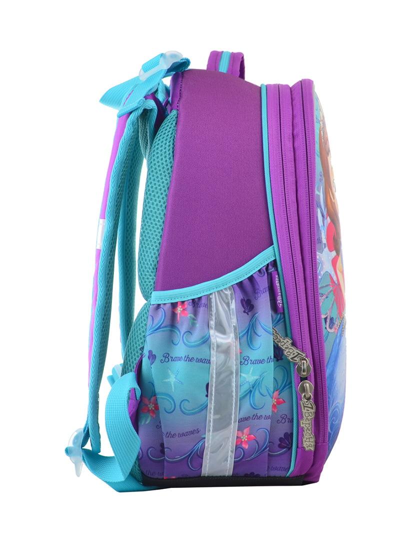 Рюкзак двоколірний з принтом | 4440424 | фото 2