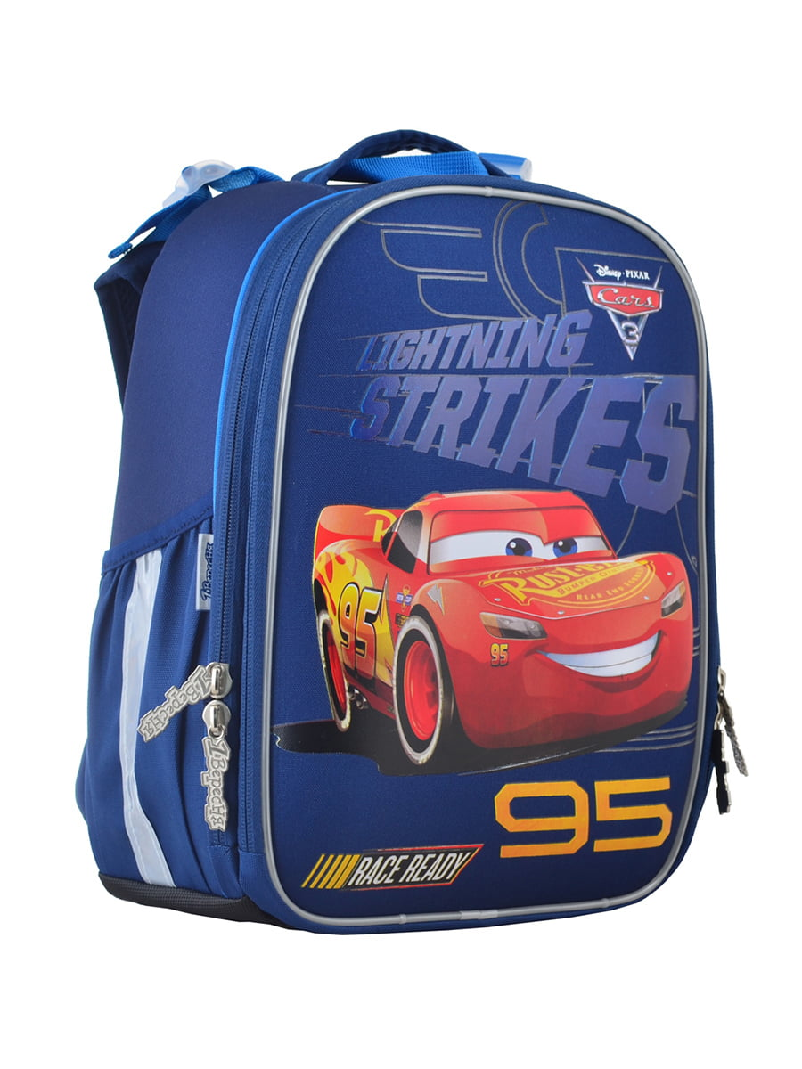 Рюкзак синий с принтом | 4440425