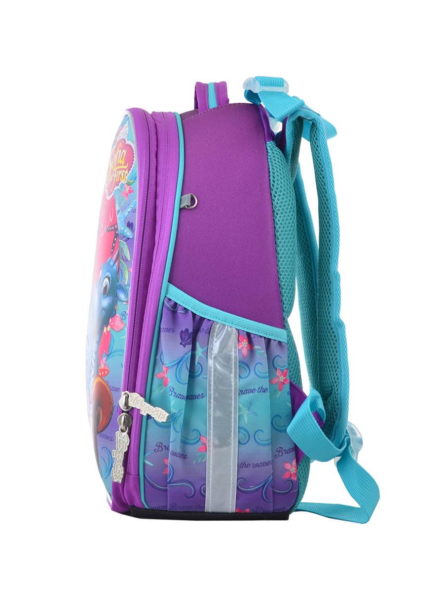 Рюкзак двоколірний з принтом | 4440424 | фото 3