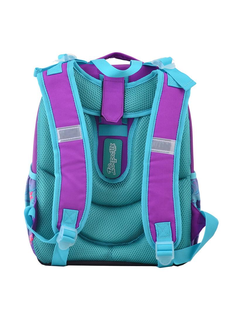 Рюкзак двоколірний з принтом | 4440424 | фото 4