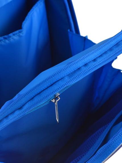 Рюкзак синій з принтом | 4440426 | фото 5