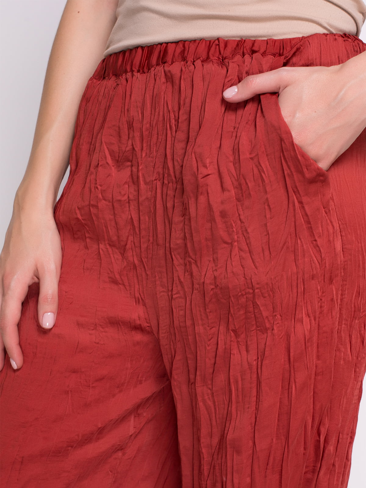 Штани червоні | 1706401 | фото 6