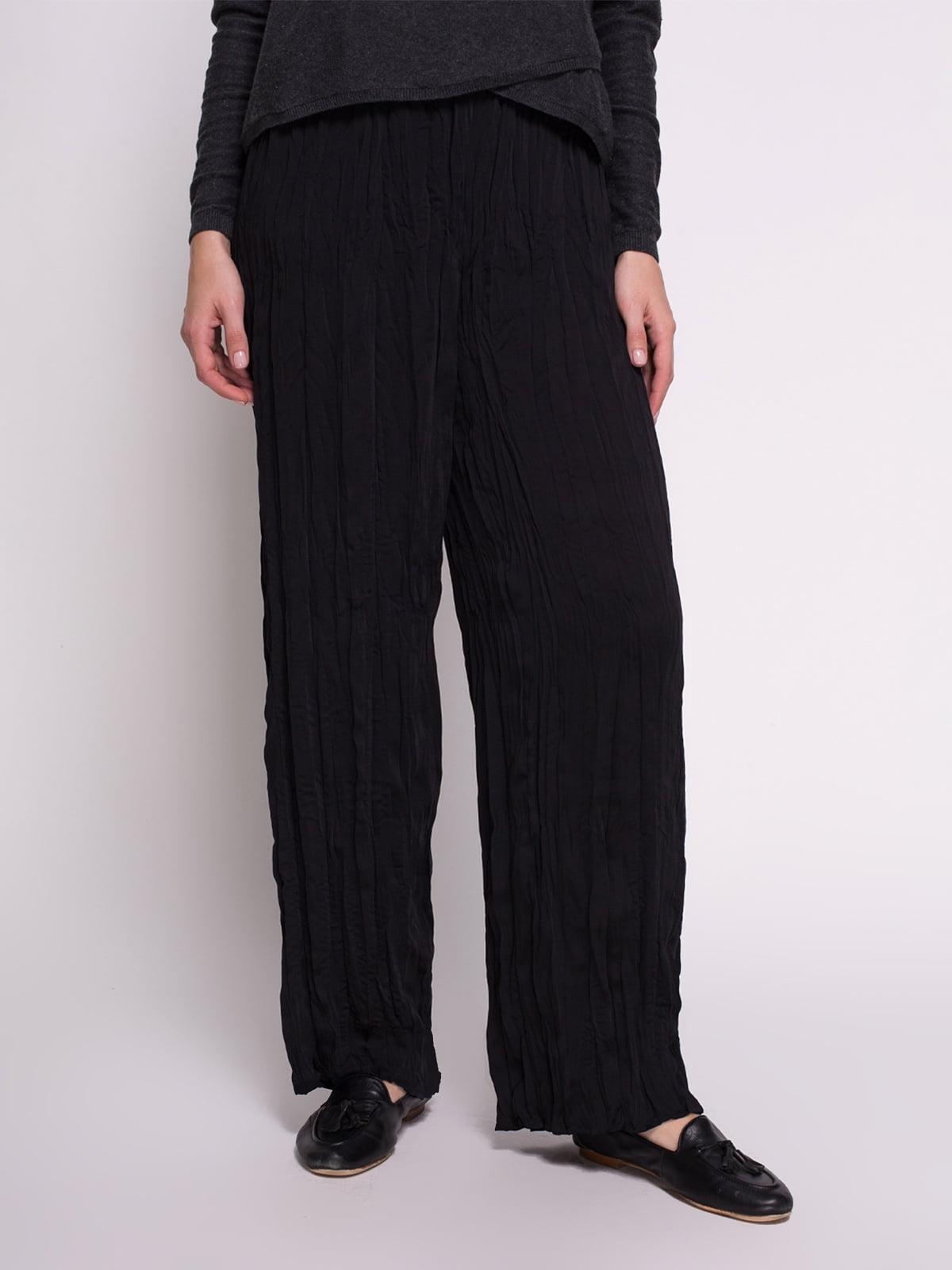 Штани чорні | 1706400 | фото 2