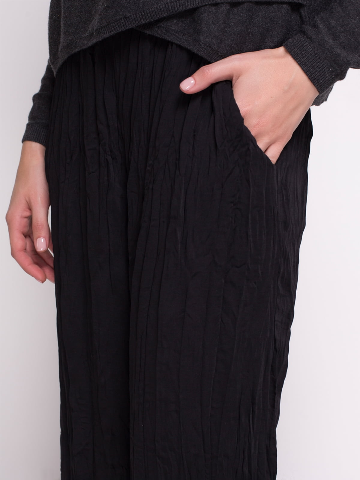 Штани чорні | 1706400 | фото 5