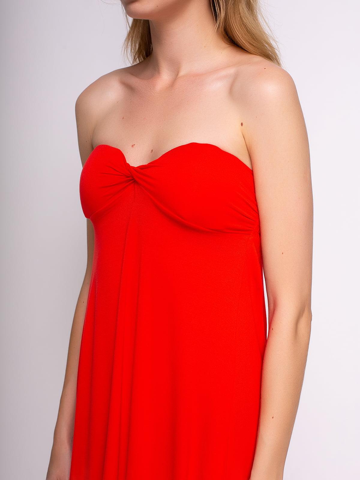 Сукня червона | 3011424 | фото 4