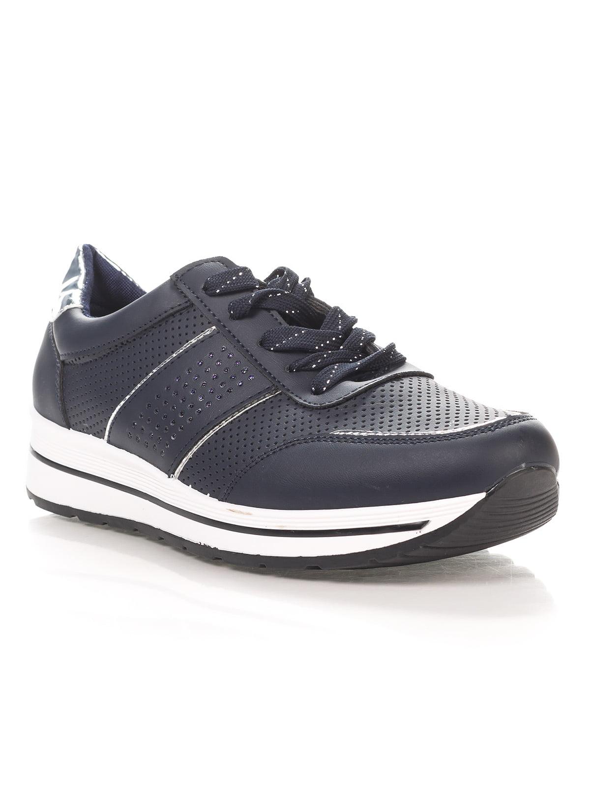 Кроссовки темно-синие | 4378527