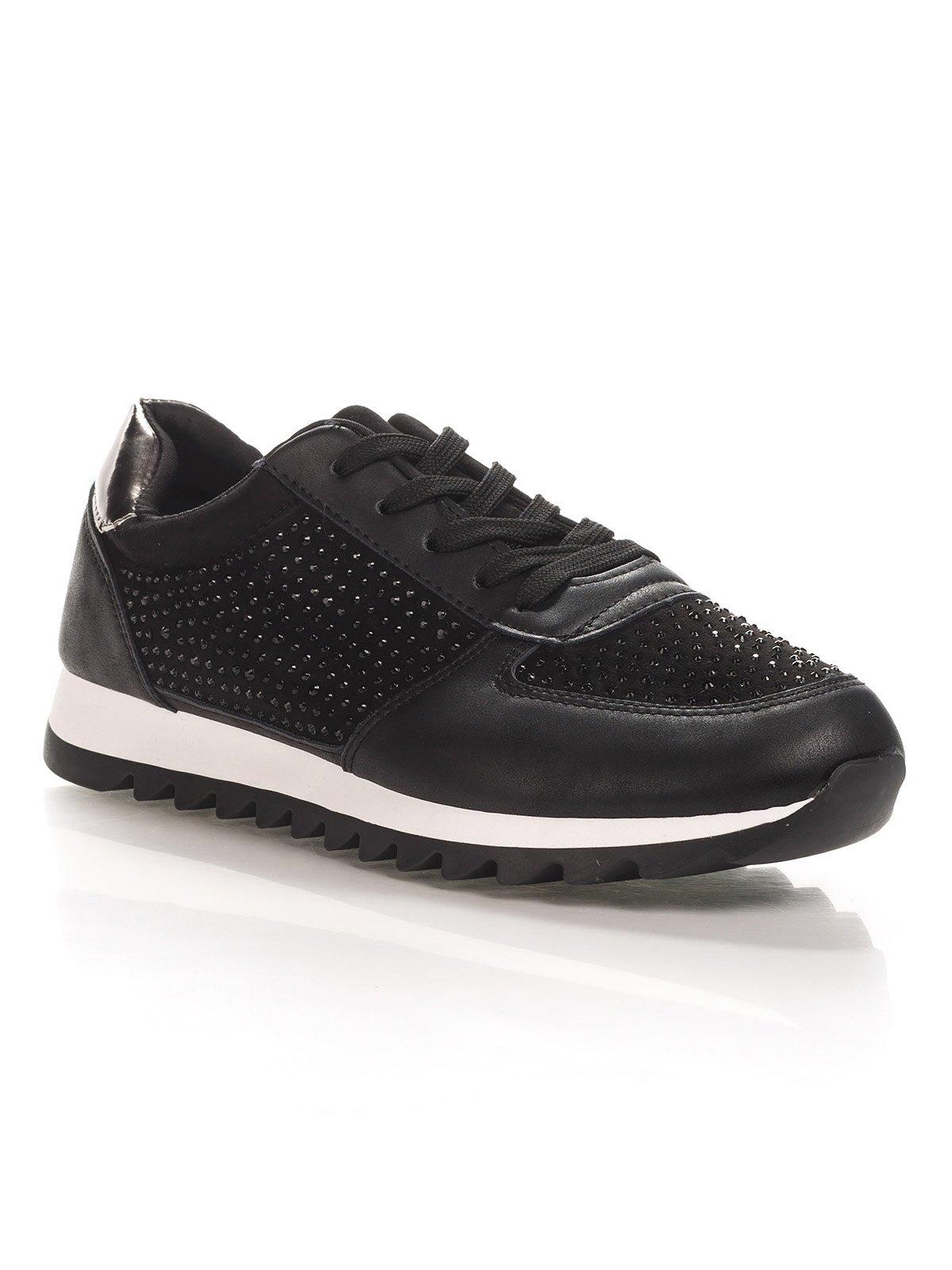 Кроссовки черные | 4367100