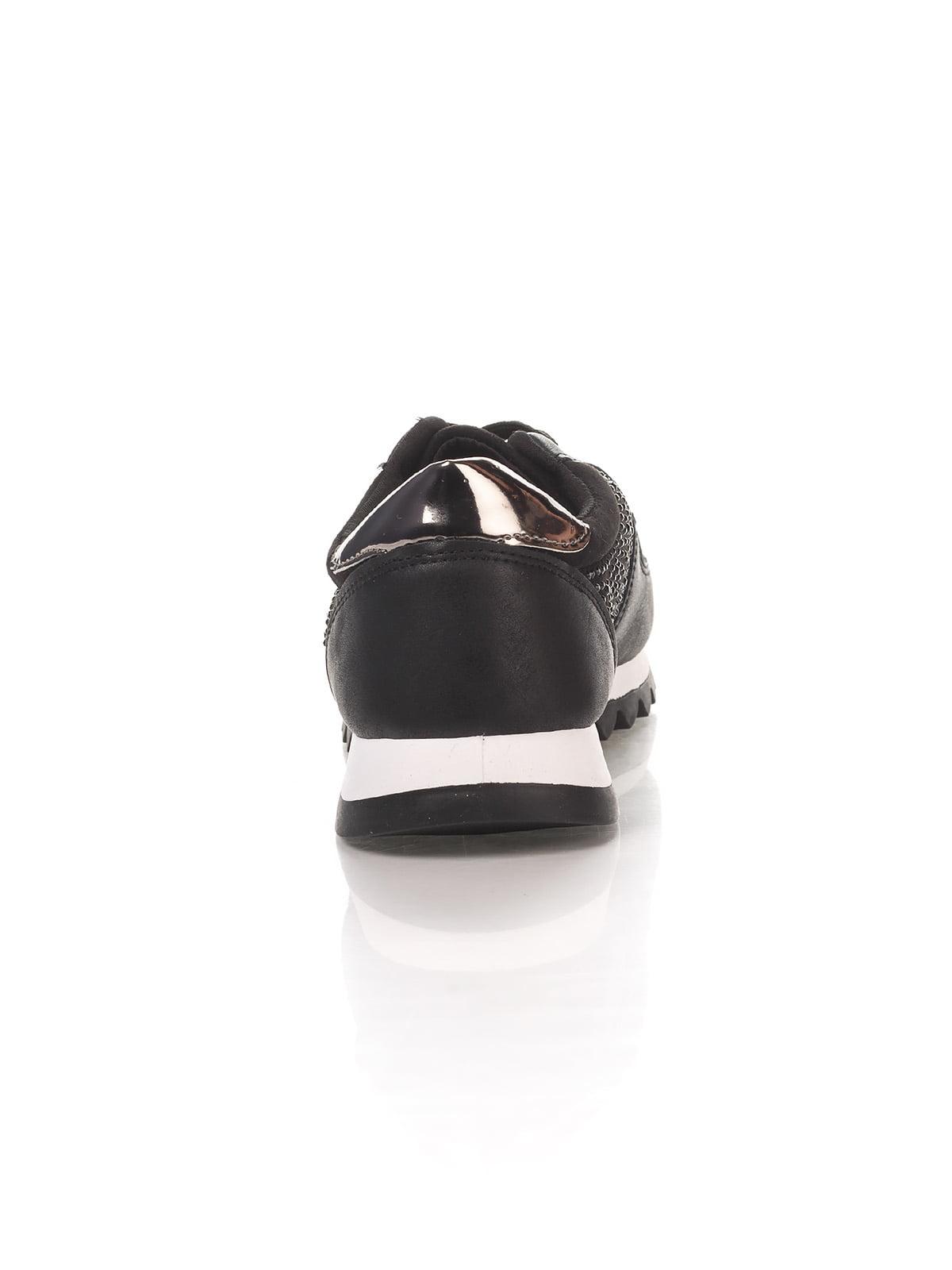 Кроссовки черные | 4367100 | фото 3