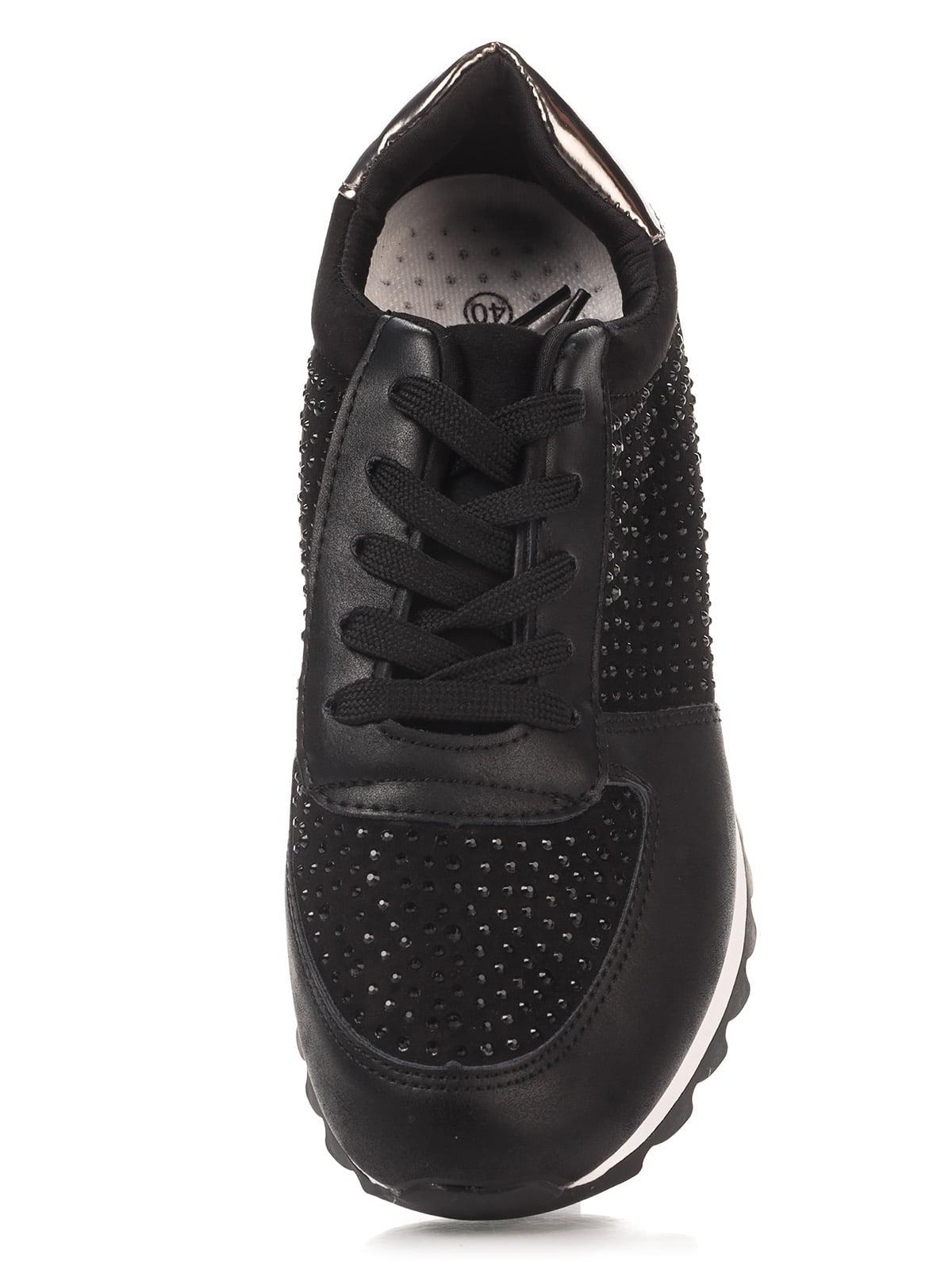 Кроссовки черные | 4367100 | фото 5