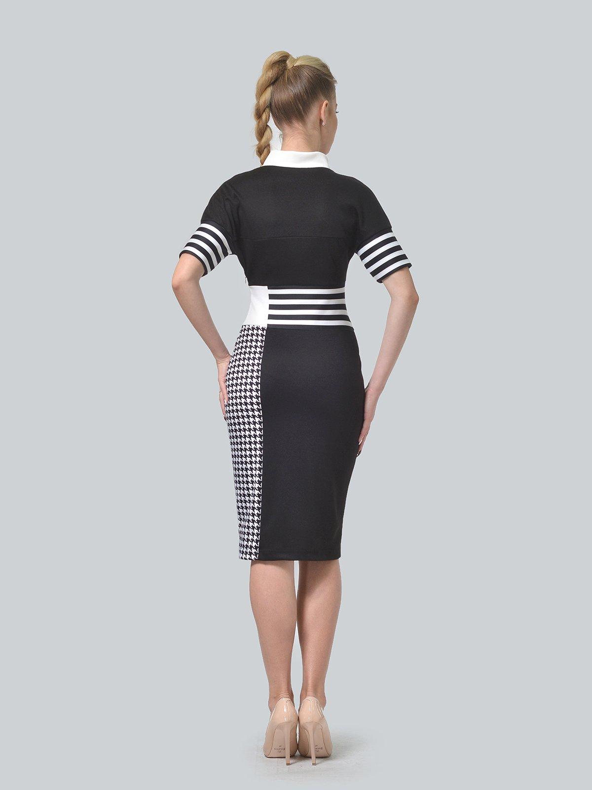 Сукня чорно-біла   4409817