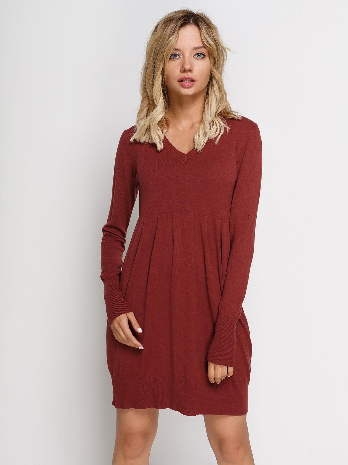 Сукня цегляного кольору | 2931398