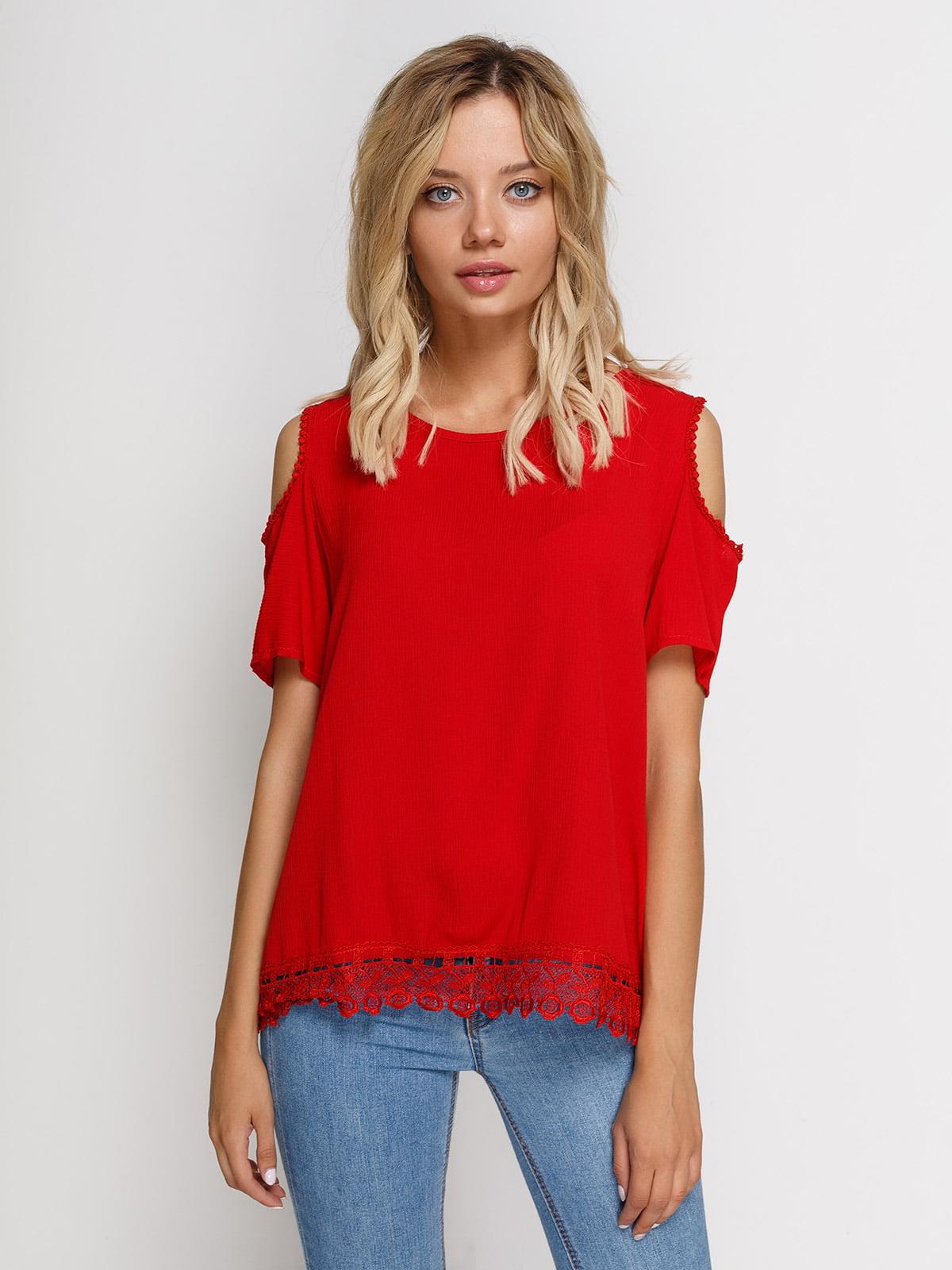 Блуза красная | 4213182