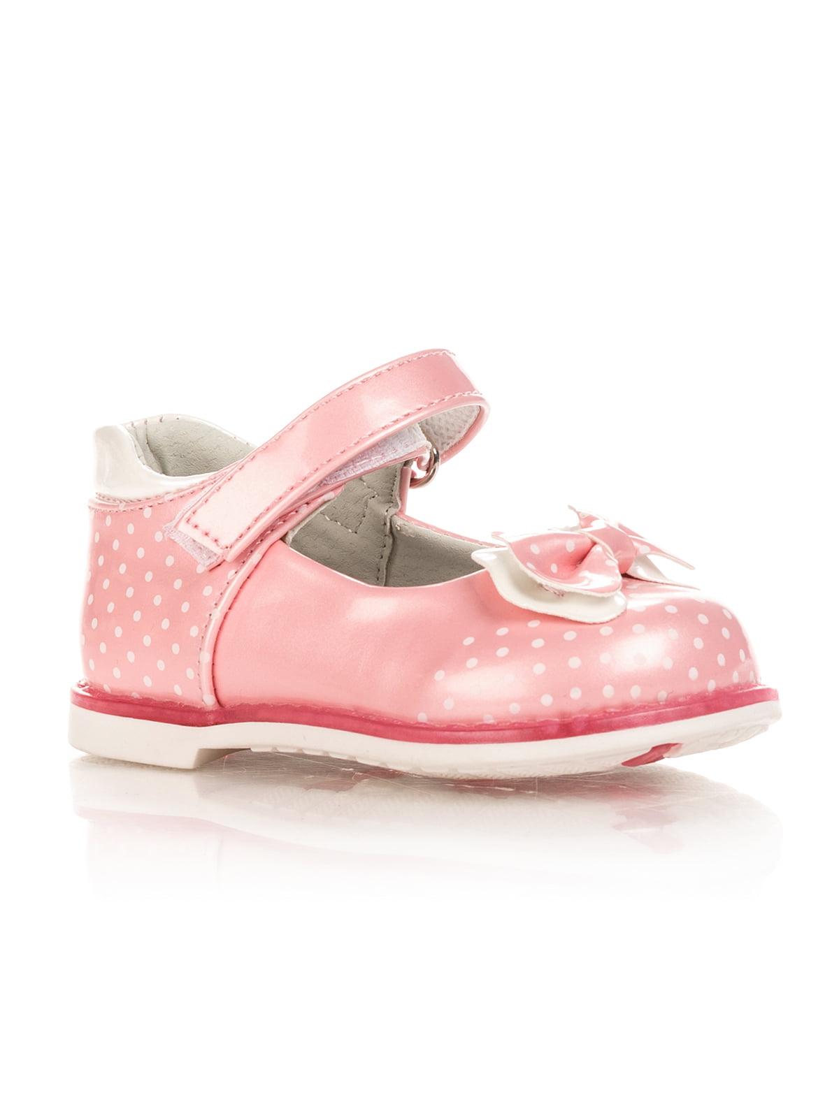 Туфли розовые в горошек | 4408225