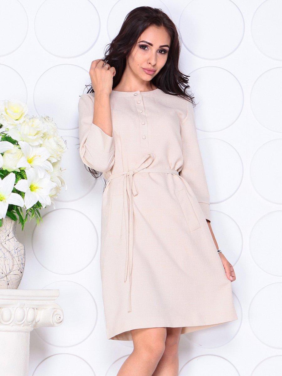 Сукня бежева | 4444571