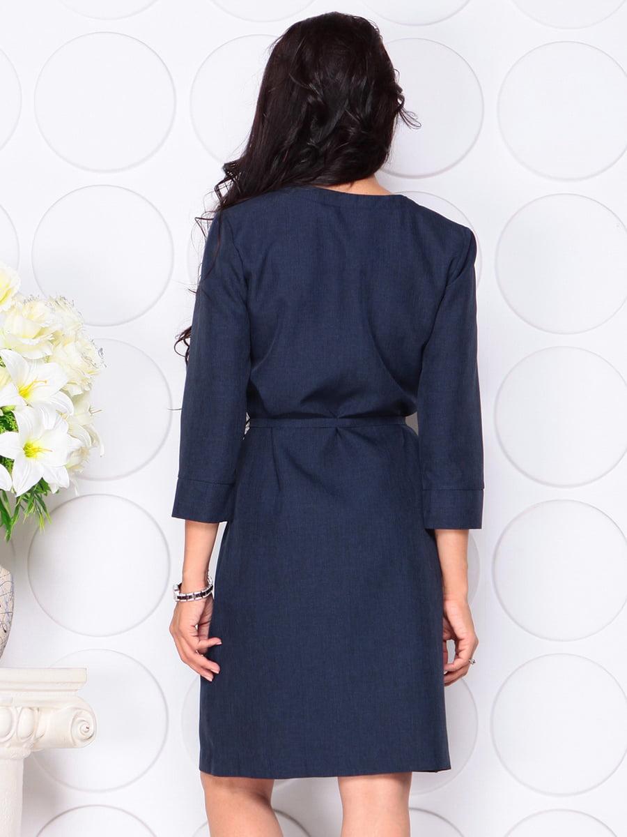 Платье темно-синее   4444577   фото 2