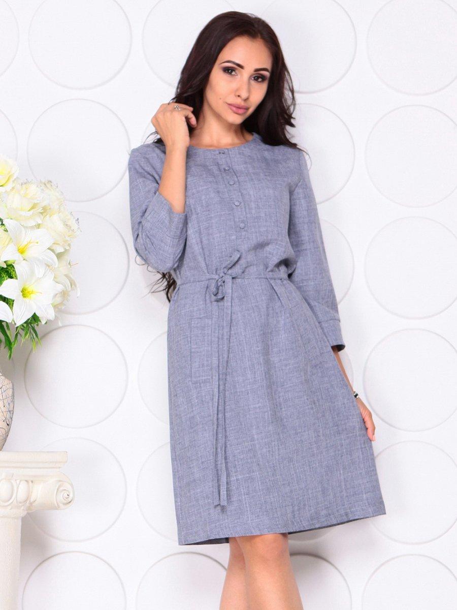 Платье цвета фиолетовой дымки | 4444582