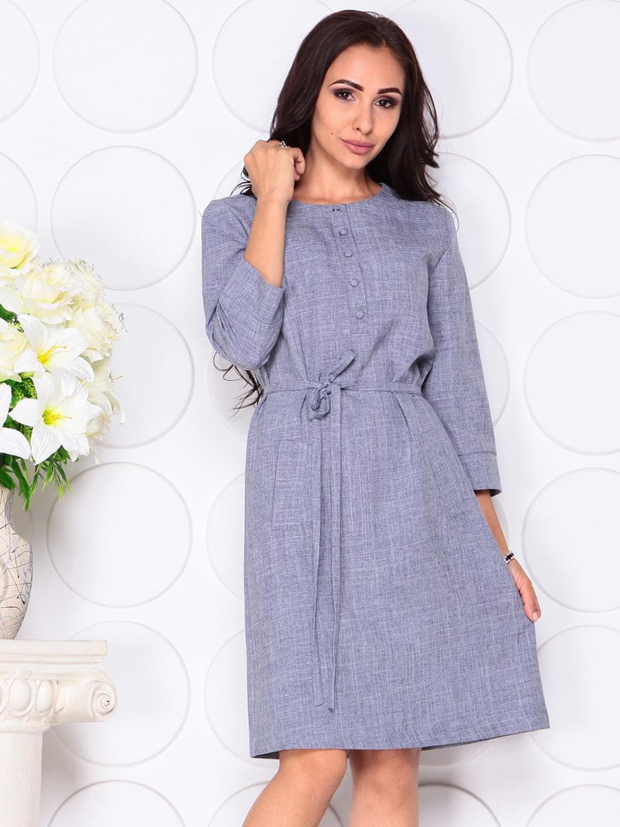 Платье цвета фиолетовой дымки | 4444582 | фото 3