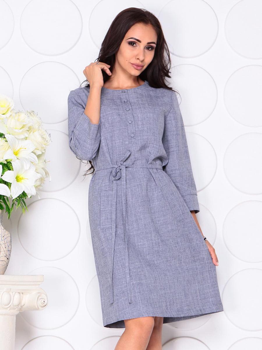 Платье цвета фиолетовой дымки | 4444582 | фото 4