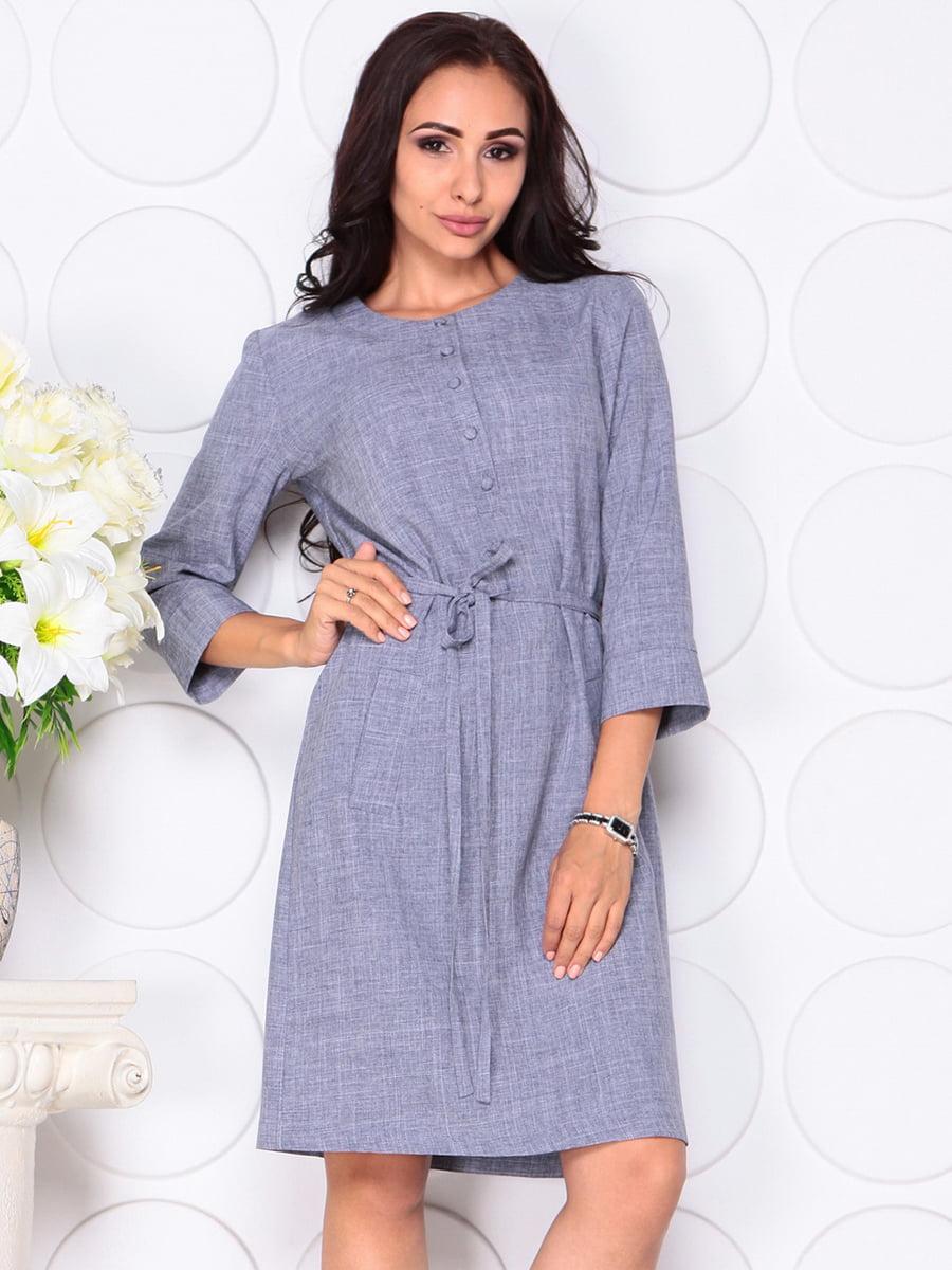 Платье цвета фиолетовой дымки | 4444582 | фото 5