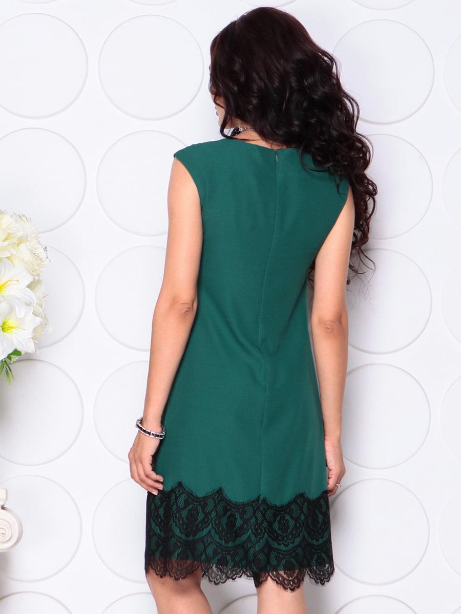 Платье темно-изумрудное   4444586   фото 2