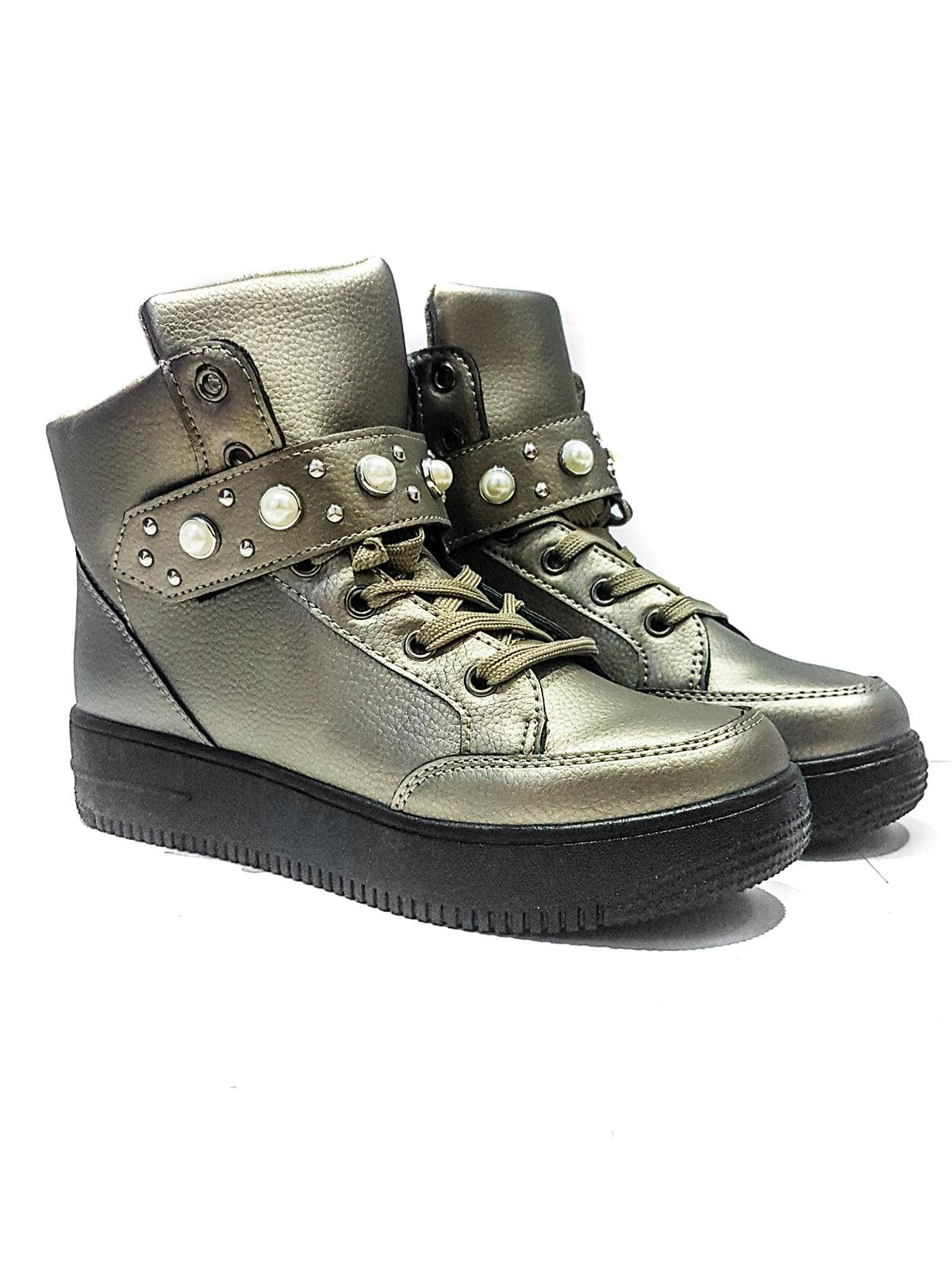 Ботинки серые | 4342689