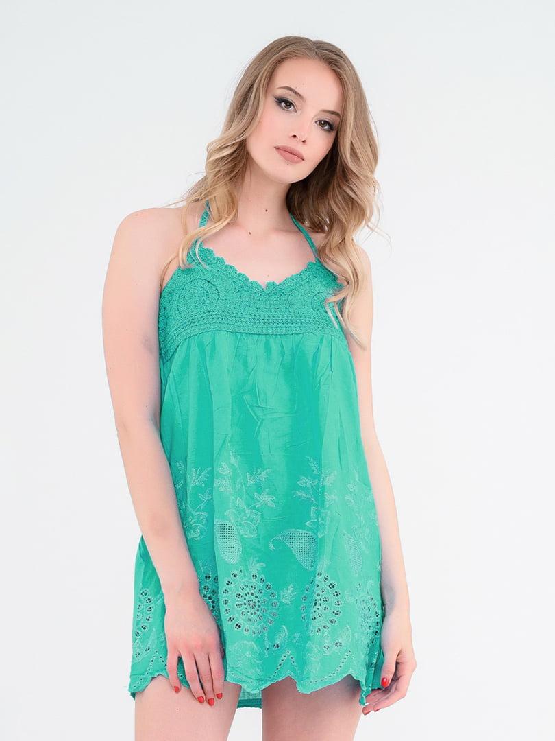 Сукня м'ятного кольору | 4342676