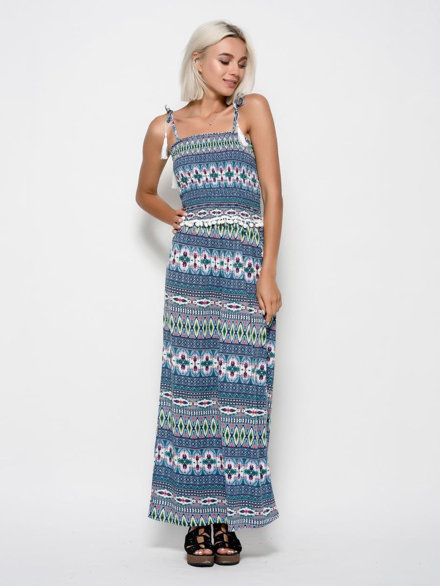 Платье в принт   4421681