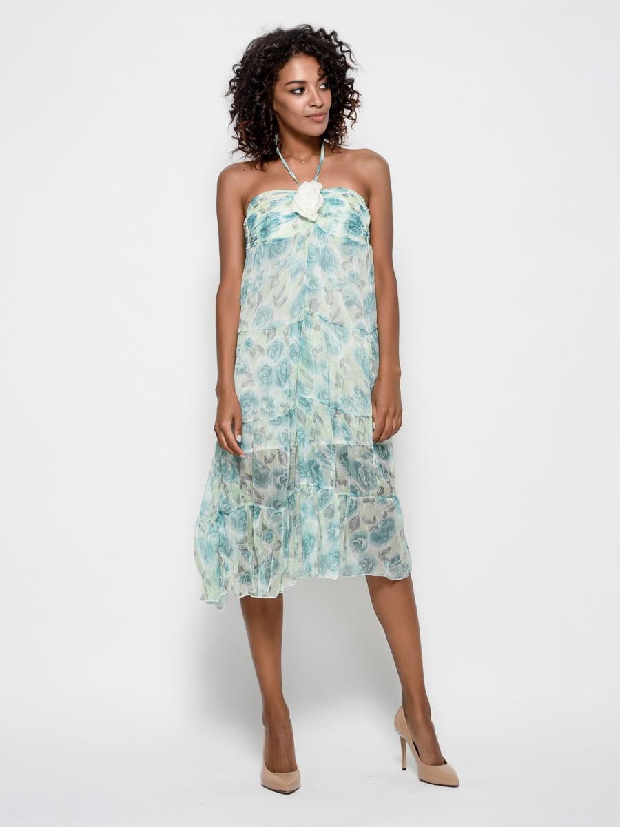Сукня бірюзова | 4421707