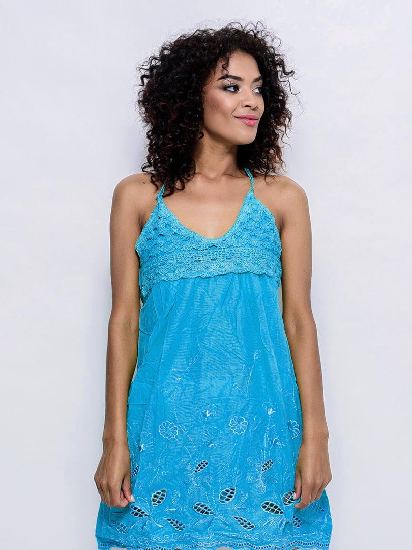 Платье синее | 4421731