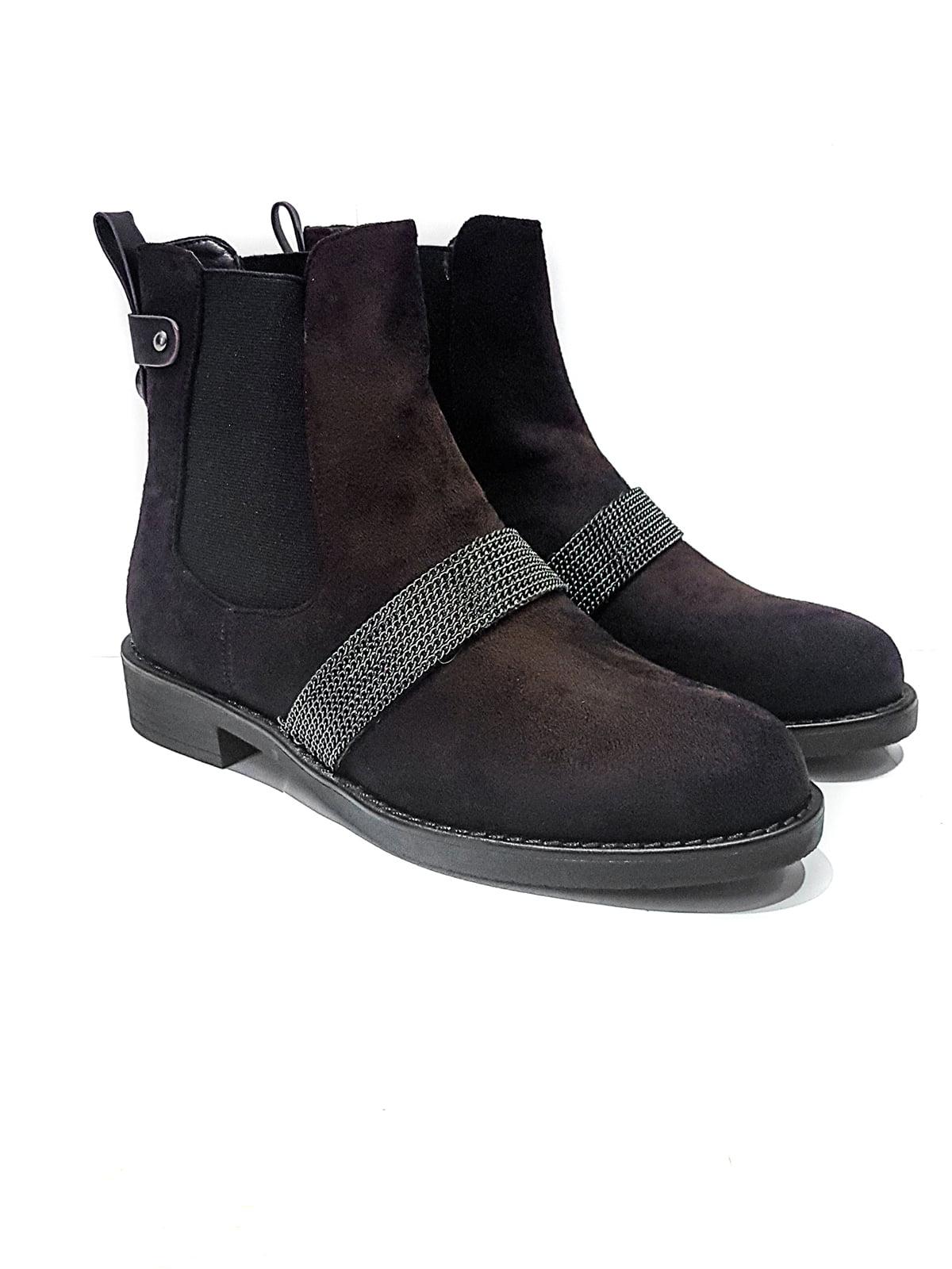 Ботинки коричневые   4445880