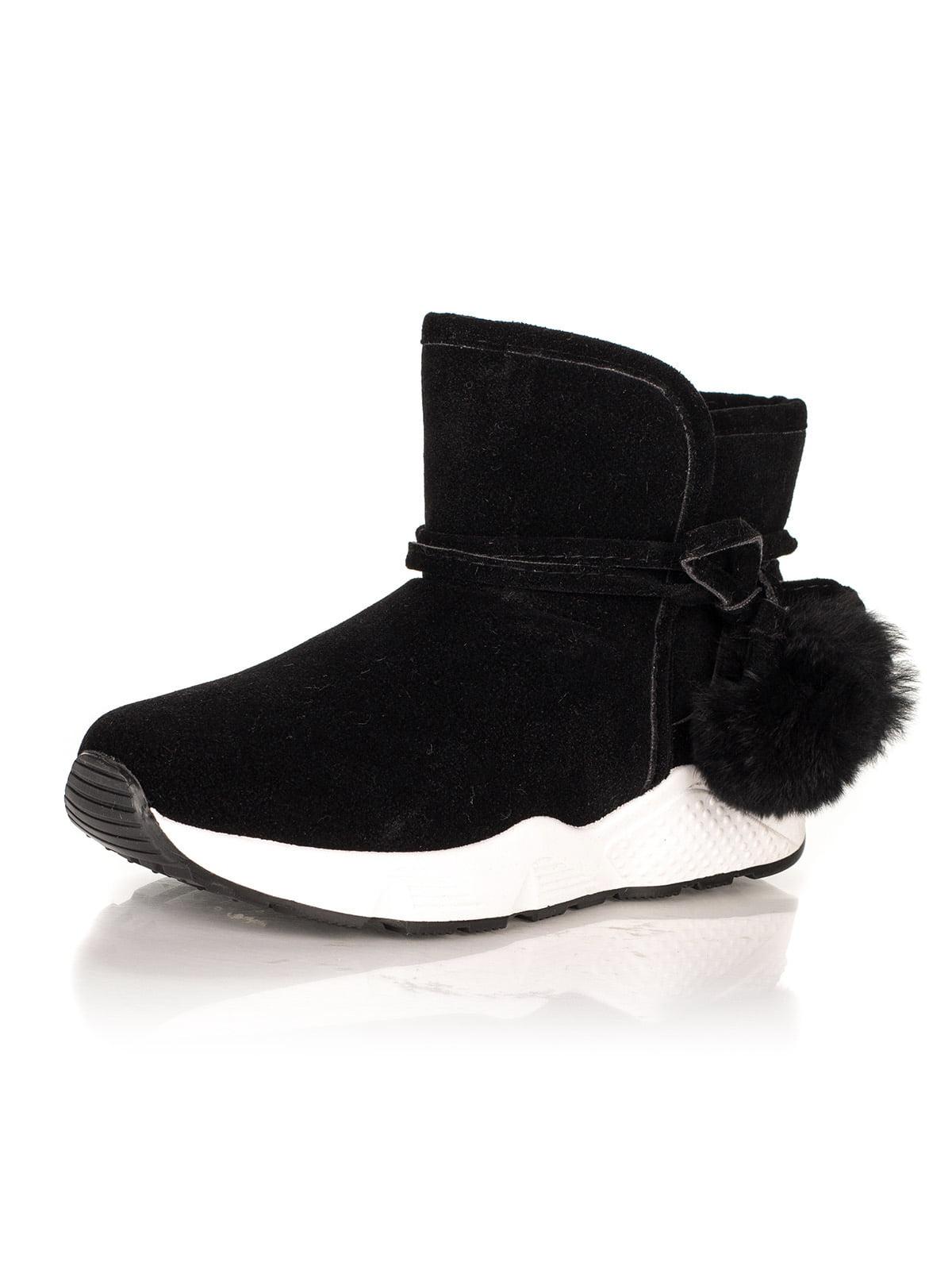 Ботинки черные | 4445735