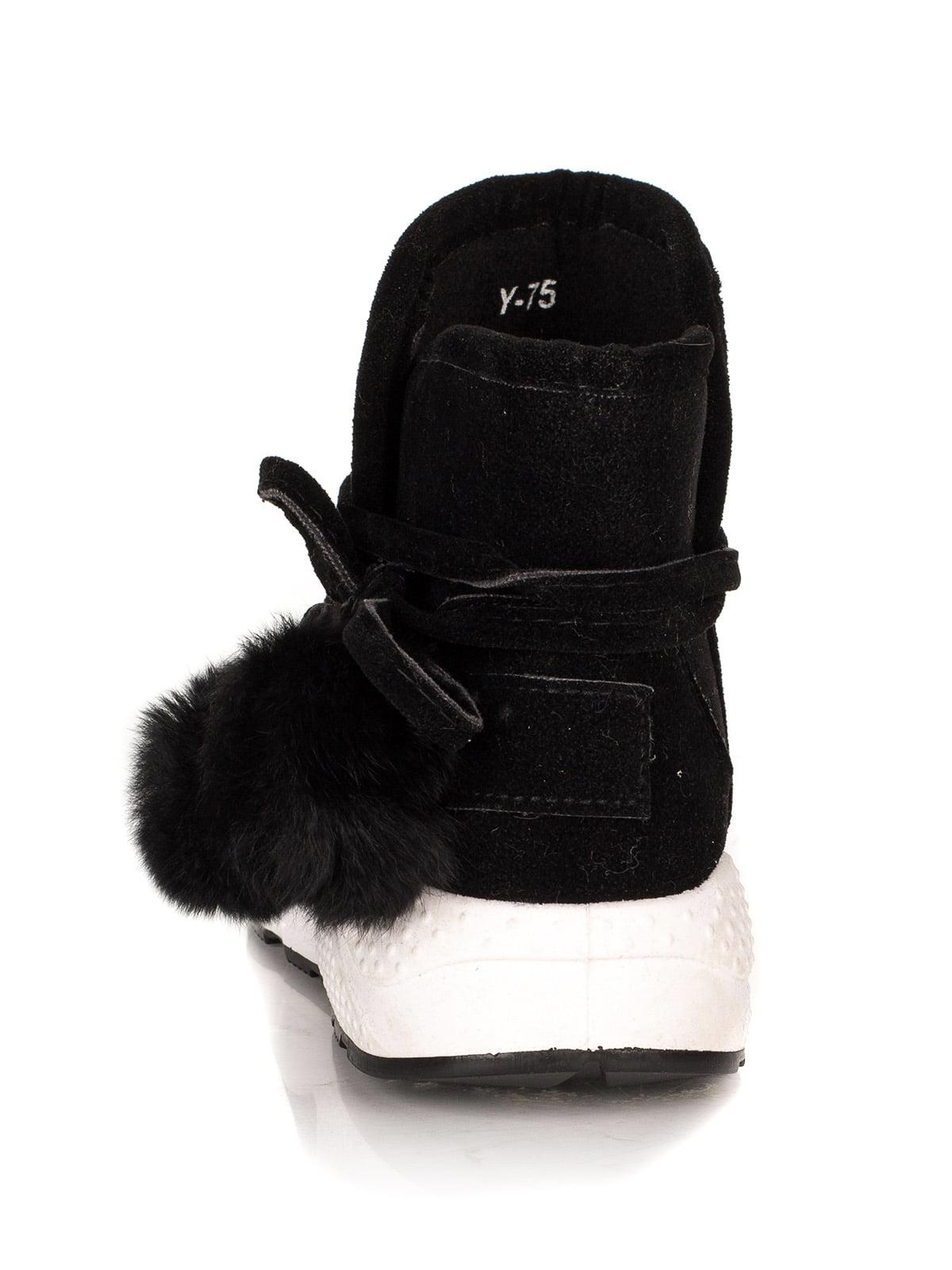 Ботинки черные | 4445735 | фото 3