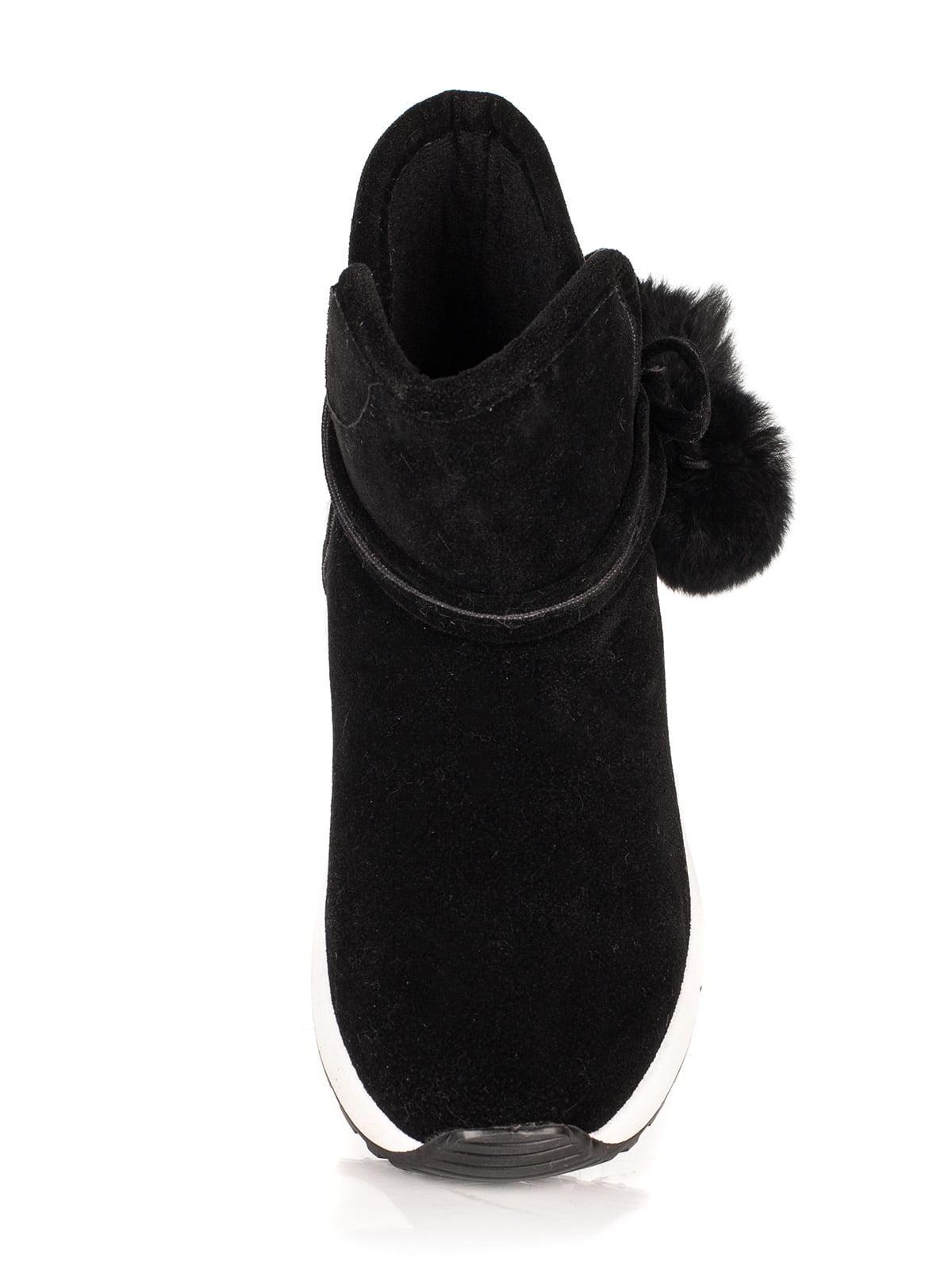 Ботинки черные | 4445735 | фото 5