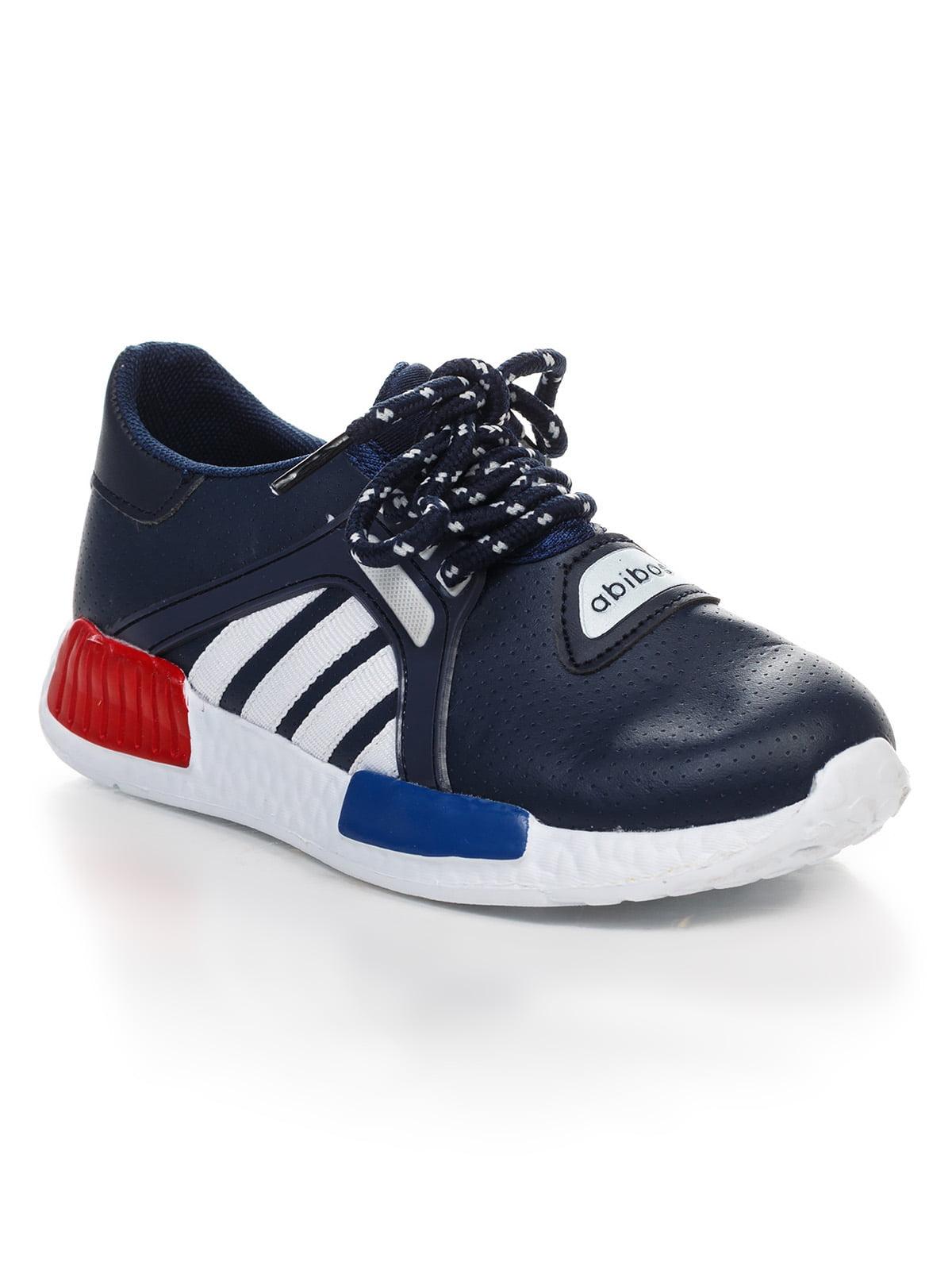 Кроссовки темно-синие   4409405