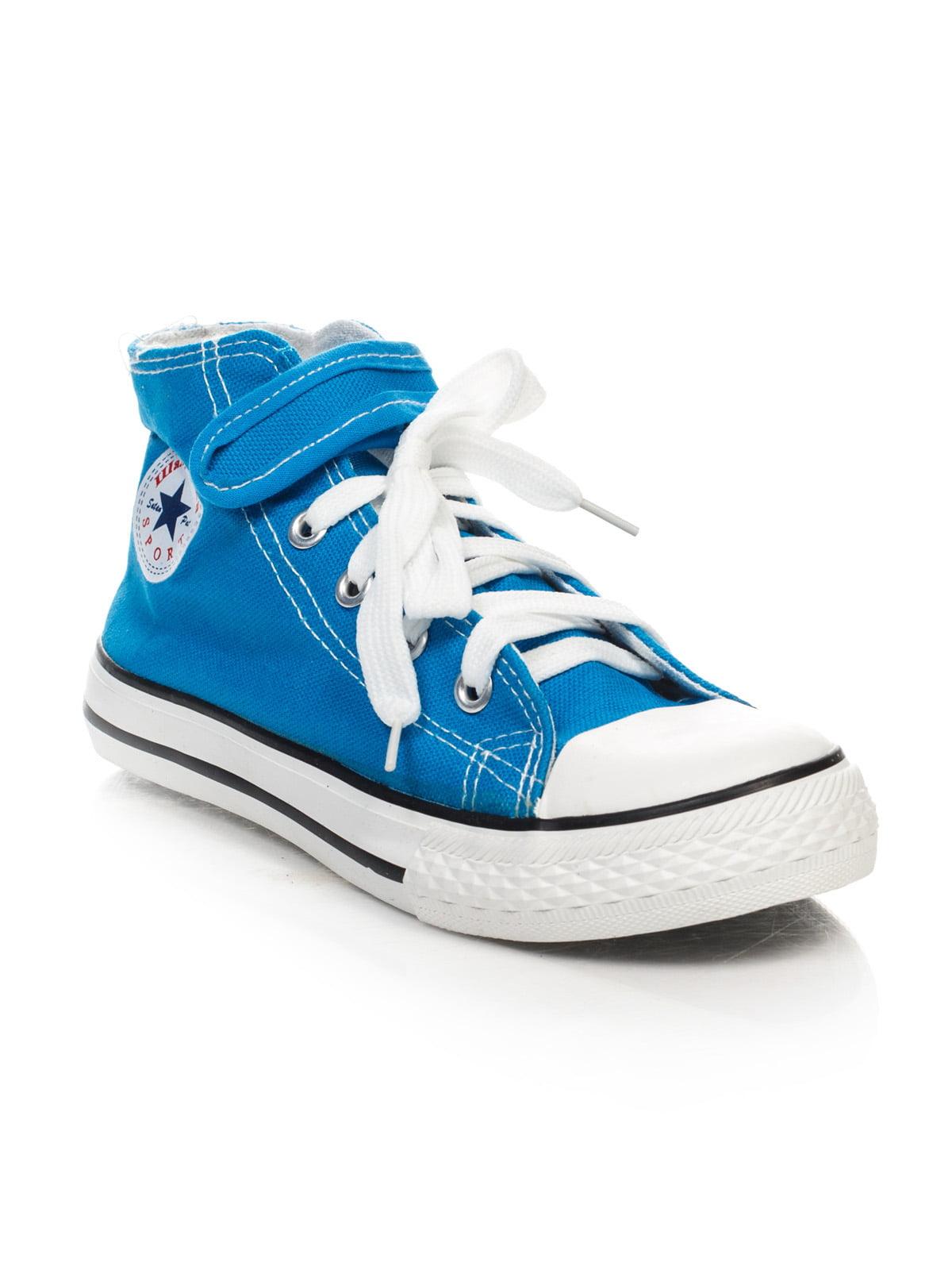 Кеды голубые   4412936