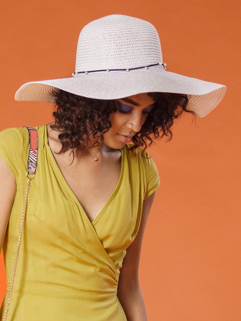 Шляпа белая | 4310682
