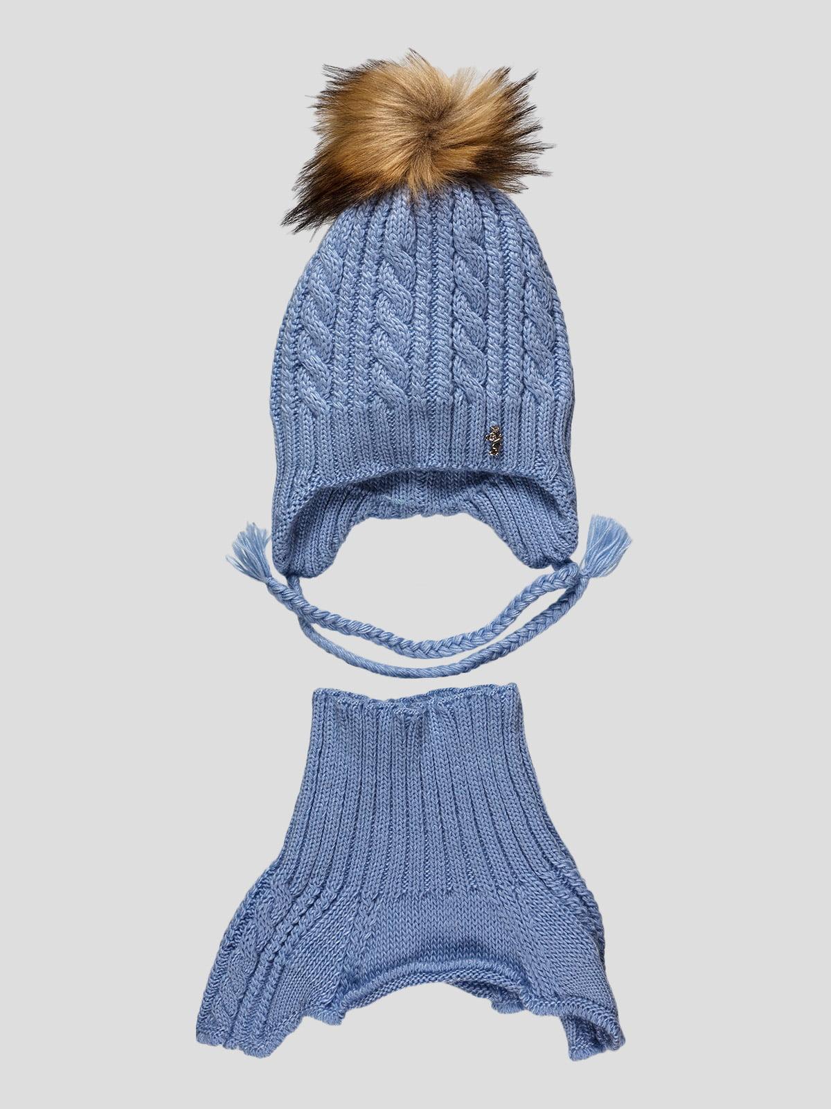 Комплект: шапка и манишка | 4399658